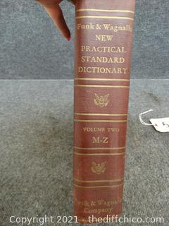 1946 Funk & Wagnalls Company Dictionary