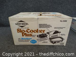 NEW In Box West Blend Slo Cooker Plus Factory Sealed