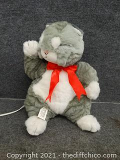 Moving Stuffed Cat