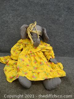 Stuffed Elephant