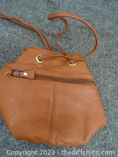 Genuine Leather Brown purse