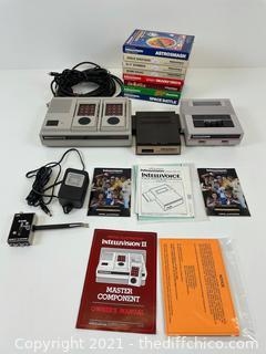 HUGE VINTAGE 1979-I982 -Intellivision- VIDEO GAME BUNDLE!