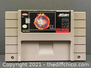 NBA Jam TE Tournament Edition (Nintendo SNES, 1994)