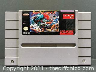 Street Fighter II 2 Super Nintendo Authentic SNES Cartridge