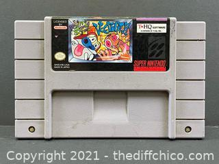 Ren and Stimpy Veediots Authentic SNES Super Nintendo Game