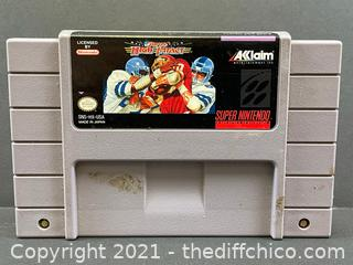 SUPER HIGH IMPACT SNES Super Nintendo Video Game