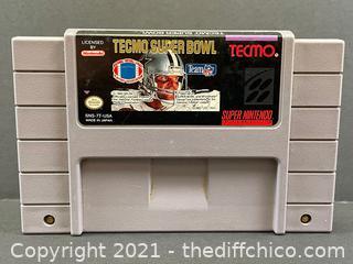 Tecmo Super Bowl (Super Nintendo SNES, 1993)