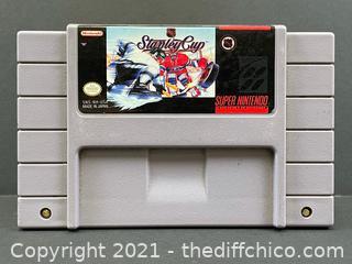 NHL Stanley Cup SNES Super Nintendo Game