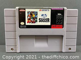 FIFA INTERNATIONAL SOCCER SNES Super Nintendo