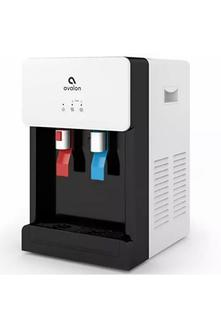 ($199.99) BRAND NEW Avalon B8WHT Touchless Countertop Bottleless Water Cooler Water Dispenser - Hot & Cold Water, NSF Certified Filter- UL/Energy Star Approved- White