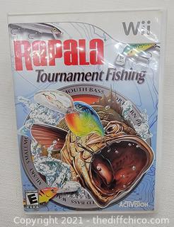 Rapala Tournament Fishing (Nintendo Wii)