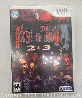 The House of The Dead 2 & 3 Return (Nintendo Wii)