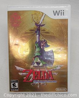 The Legend of Zelda Sykword Sword (Nintendo Wii)
