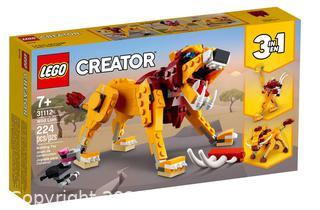 NEW LEGO Creator 3 in 1 Wild Lion 31112