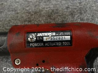 AMERCO Powder Actuated  Tool