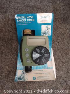 Digital Hose Faucet Timmer NIB