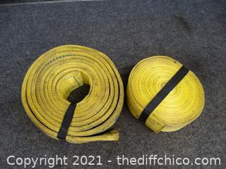 2 Yellow Straps