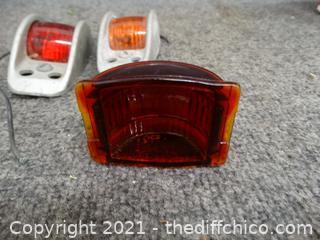 2 lights 1 Glass Light COVER