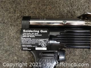 Craftsman Soldering Gun In Black Case