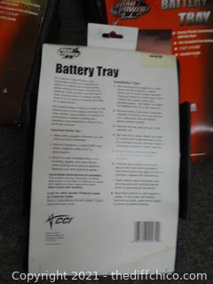 New Battery Trays