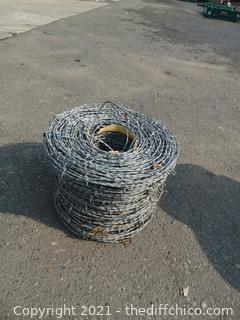 Roll Of Barb Wire