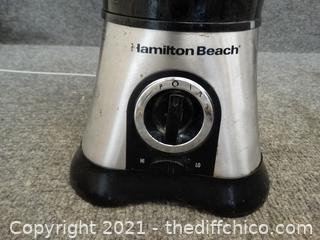 Working Hamilton Beach Blender