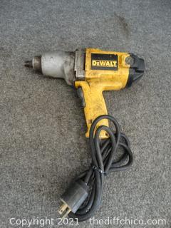 "DeWalt 1/2"" impact Drill Works"