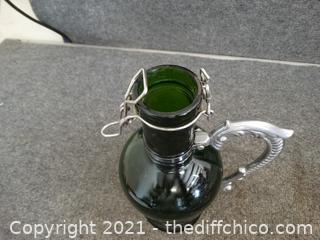 Unique Green Bottle