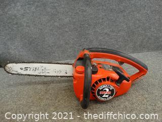"14"" Homelite Chain Saw Works"