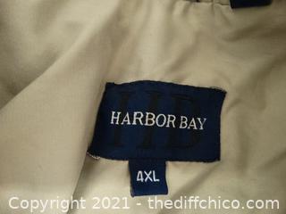 Harbor Bay 4XL Wind Breaker