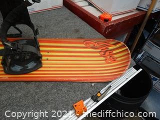 """Made In Australia Snow Board FS2 56"""" X10.5"""""""