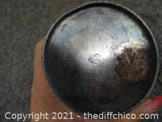 Phila New York Tea Pot Quadruple Plated Silver