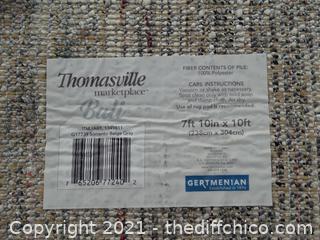 """7' 2 """" x 10' Thomasville Area Rug"""