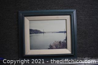 Framed Vintage Photograph