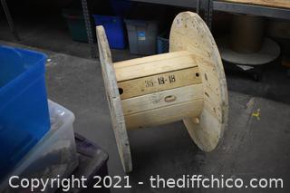 Wood Spool
