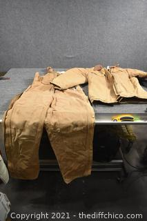 Women's Carhart Overalls and Jacket