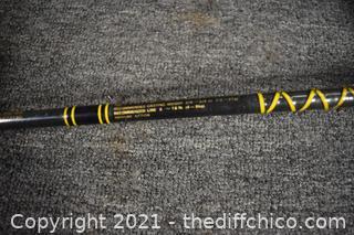 64 1/2in long Daiwa Fishing Rod and Reel
