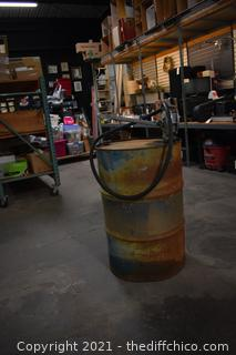 55 Gal Barrel w/pump