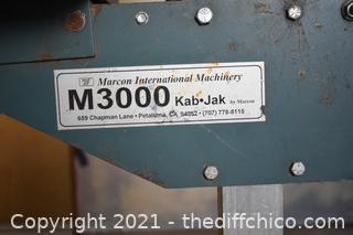 M3000 Kab Jak Cabinet Jack plus Kickers