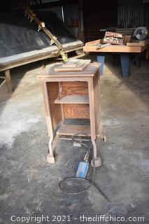 Vacuum Table for Sanding Door Panels