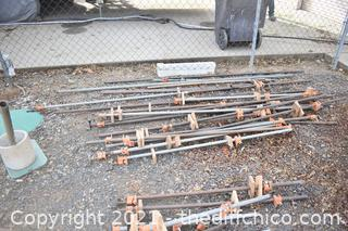 16+ Wood Clamps - 60in to 125in long