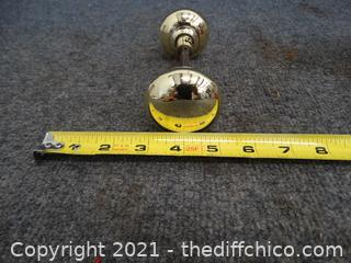 Vintage Brass Door Knob