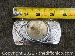 Replica Coin Belt Buckle