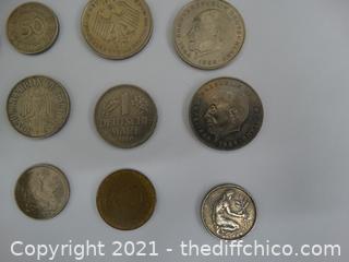 German Coins