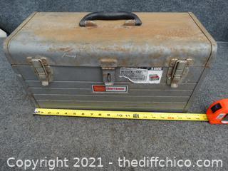 Vintage Craftsman Tool Box