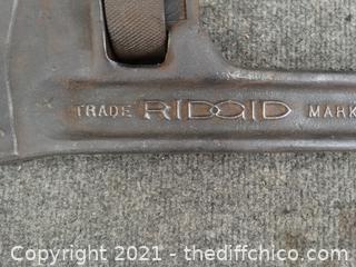 "36"" Ridgid Pipe Wrench"