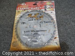 "10"" Pit Bull Carbide Tip Saw Blades"