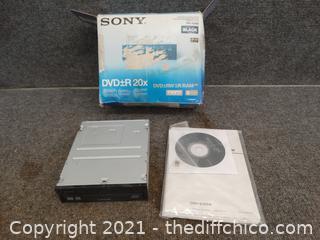 DVD R 20X Rewritable Drive NIB