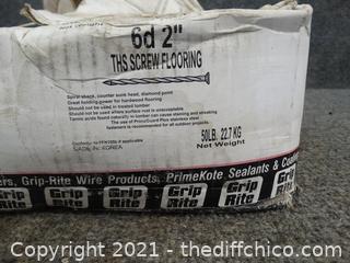 "6 D 2"" THS Screw Flooring Nails"