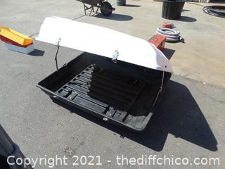 "Roof Cargo Box 18"" T x 36"" W x 4' D"